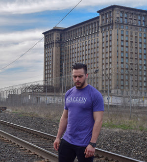 Original #01 Tee - Purple