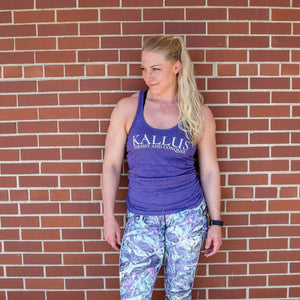 #01 Racerback Tank - Purple