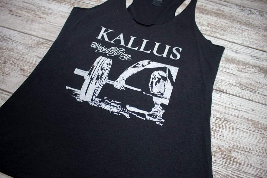 Weightlifting Racerback Tank - Black