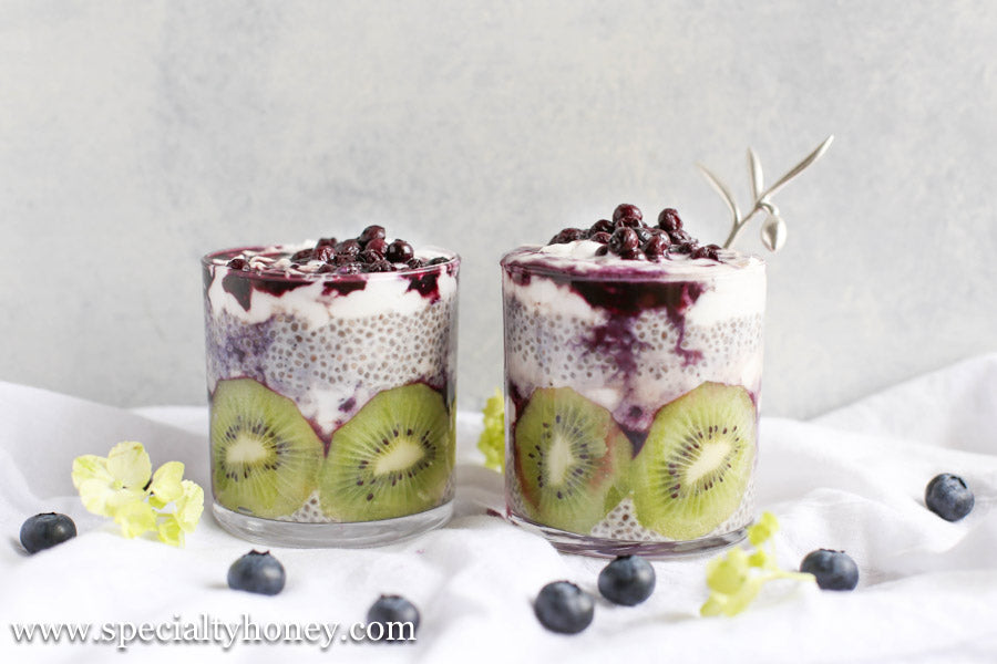 Honey Chia Seed Pudding