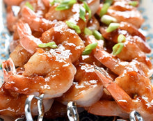 Florida Orange Blossom Honey makes a great glaze for grilling shrimp!