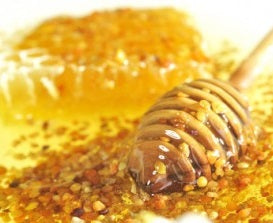 Our Honey has all of its original vitamins, enzymes, and natural bee pollen!