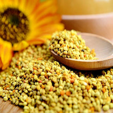 Natural Bee Pollen is good tasting and good for you.