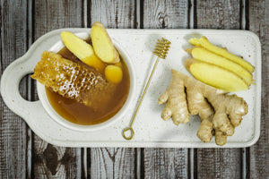 Specialty Gourmet Honey: Organic Ginger Infused Raw Honey
