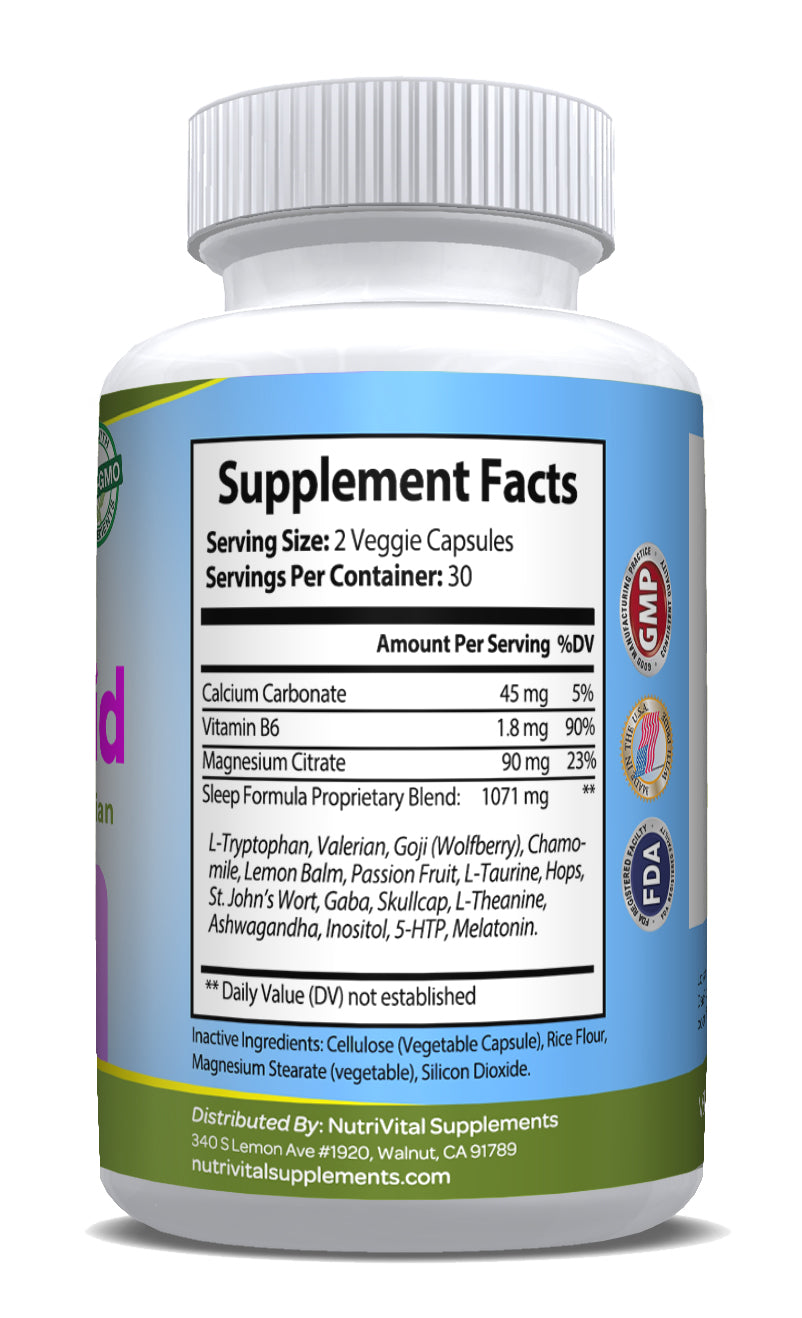 Sleep Aid (60 Vegetarian Capsules)