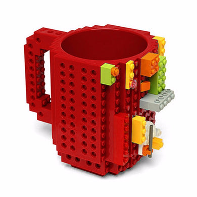 Lego bricks silicone stainless steel Travel Kids Mug