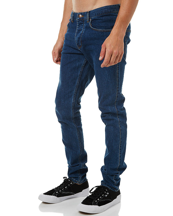 DR DENIM MEN'S CLARK MID RETRO JEANS