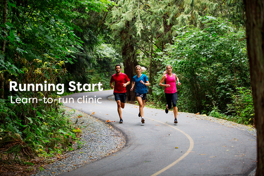 running start learn-to-run clinic