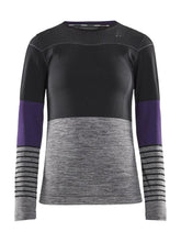 Fuseknit Comfort Blocked L/S - Women's