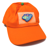 Sticker-Hat Pumpkin Edition