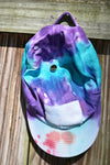 Hand Tie Dye Sticker Hat