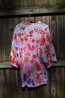 Hand Tie Dye Big Pocket Tee