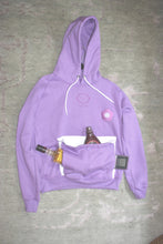 Load image into Gallery viewer, Lavender Flower Double-Hoodie