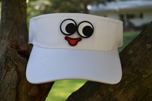 Sticker Visor (White)