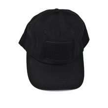 Load image into Gallery viewer, Black Sticker Hat