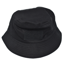 Load image into Gallery viewer, Sticker Bucket Hat (Black)