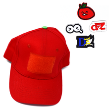 Load image into Gallery viewer, DZZ Sticker Hat (Limited Edition TOMATO Red)