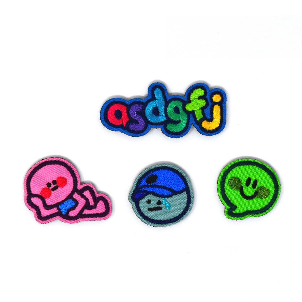 Online Frog Patch Set
