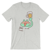 Soda Time Frog T-Shirt