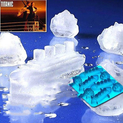 Titanic Ice Mold