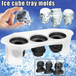 Skeleton Party Skull Ice Mold