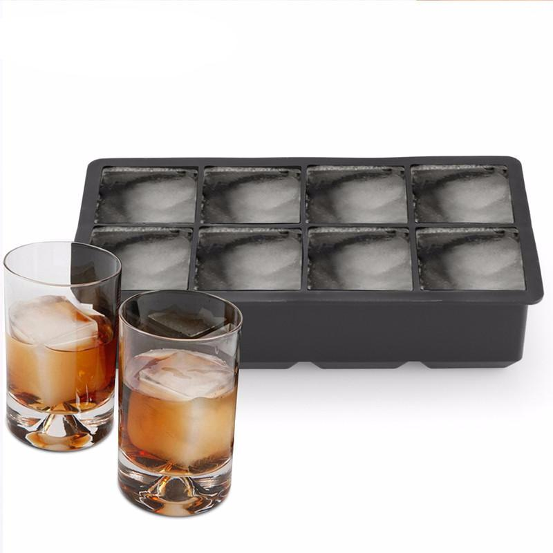Large Cube Ice Mold, Silicone