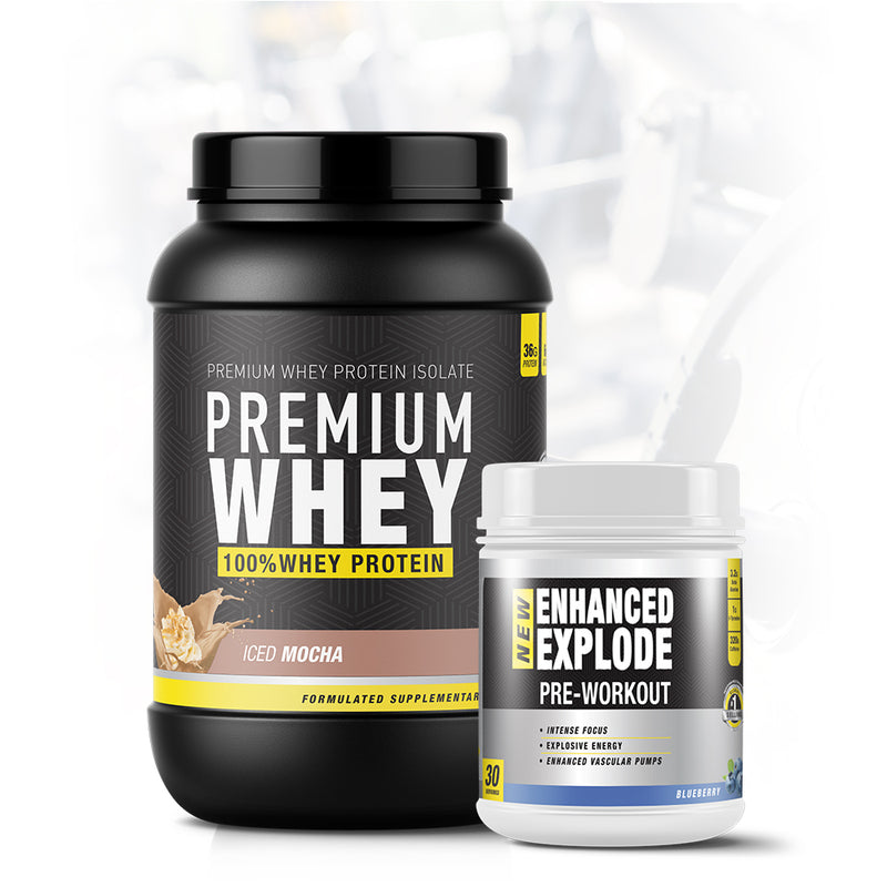 Premium Whey Enhanced Explode Stack