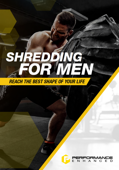 Shredding for Men (30 Page Detailed Training Map)