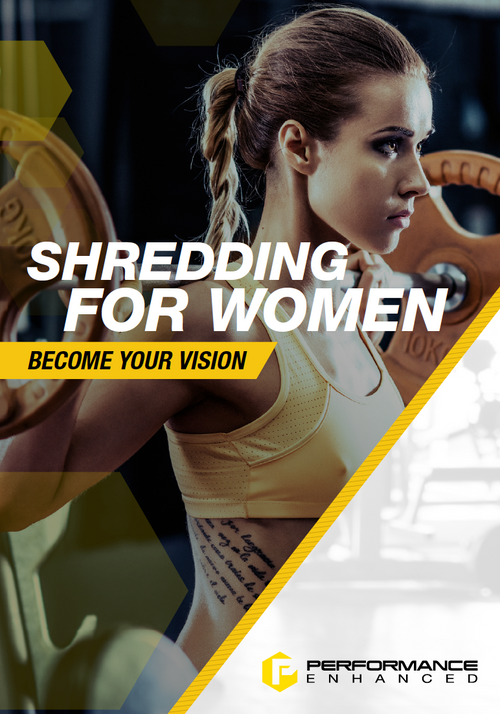 Shredding for Women (30 Page Detailed Training Map)