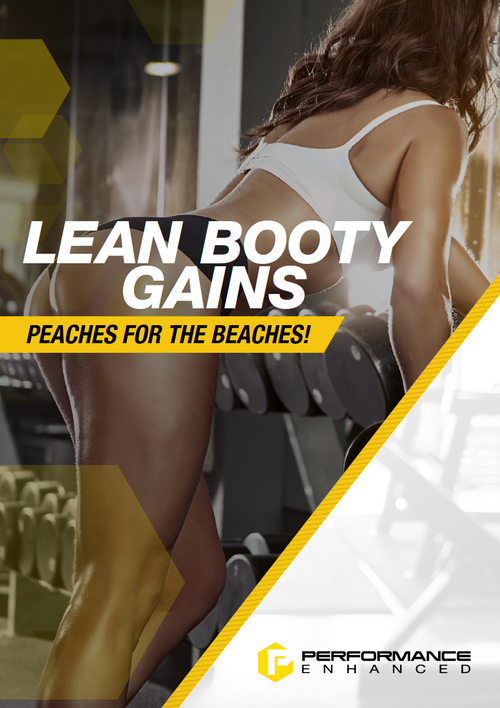 Lean Booty Gains for Women (30 Page Detailed Training Map)