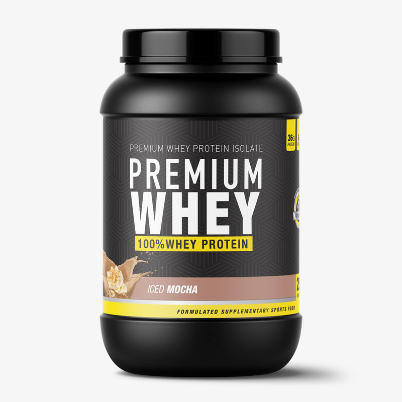 Premium Whey + Training and Diet Guide