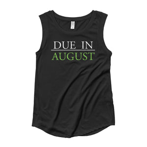 August Mom Cap Sleeve T-Shirt