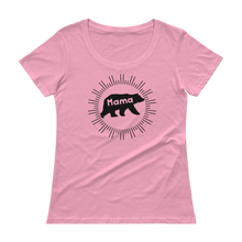 Mama Bear Scoopneck Sheer T-Shirt