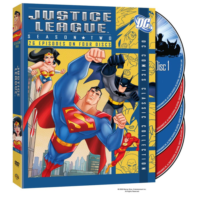 Justice League: Season 2 (DVD)