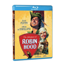 The Adventures of Robin Hood (BD)