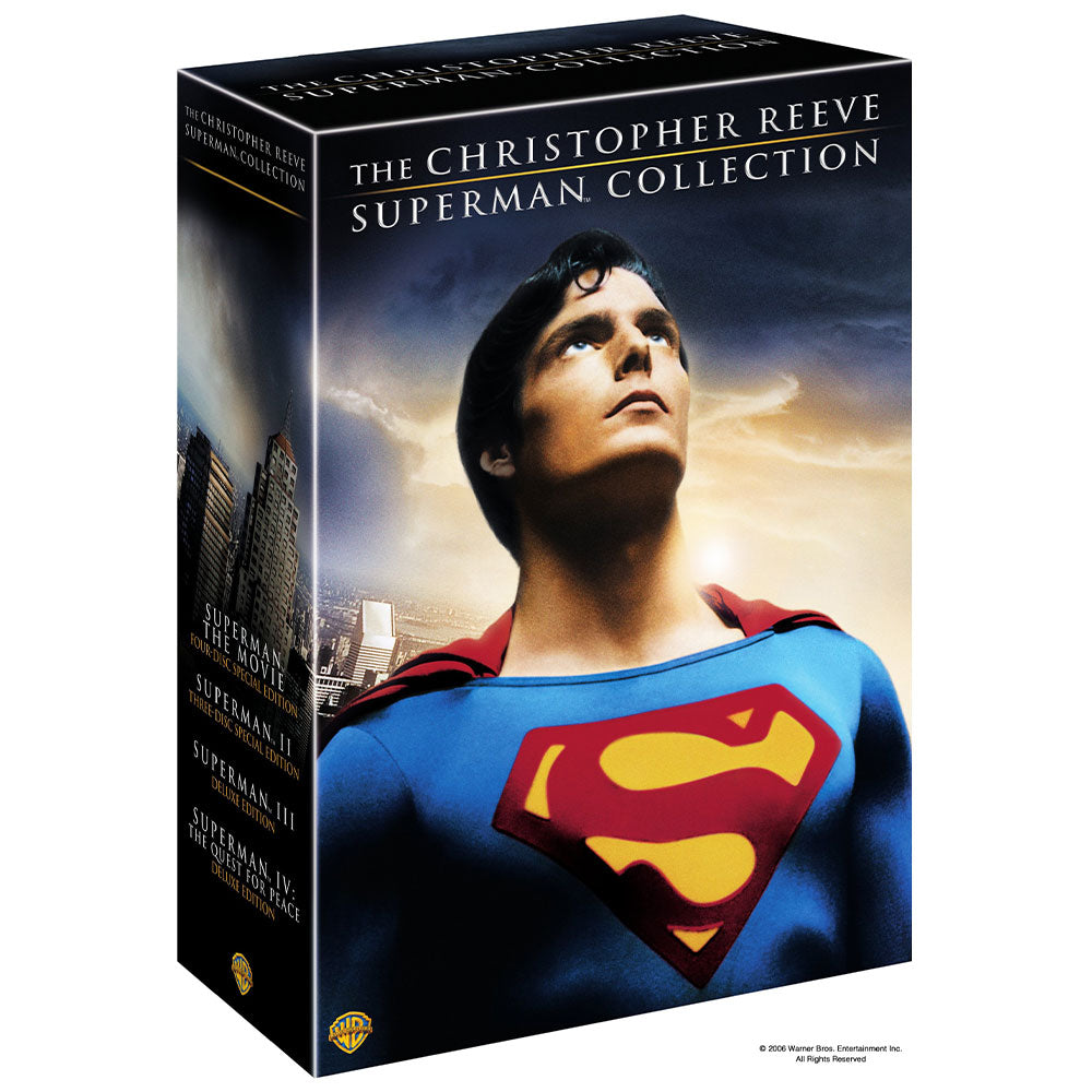 The Christopher Reeve Superman Collection (DVD)