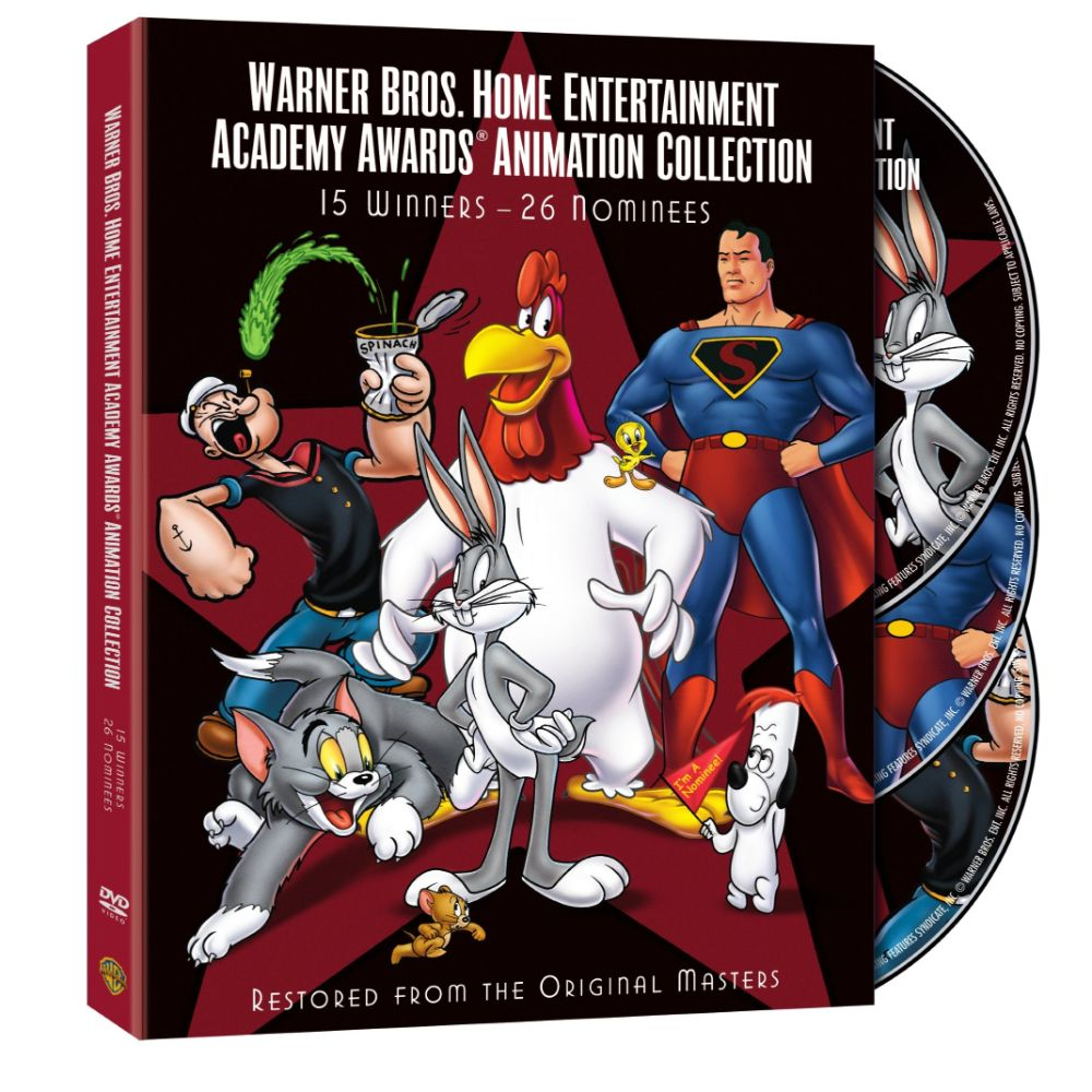 Warner Brothers Home Entertainment Academy Awards Animation Collection - 15 Winners, 26 Nominees (DVD)