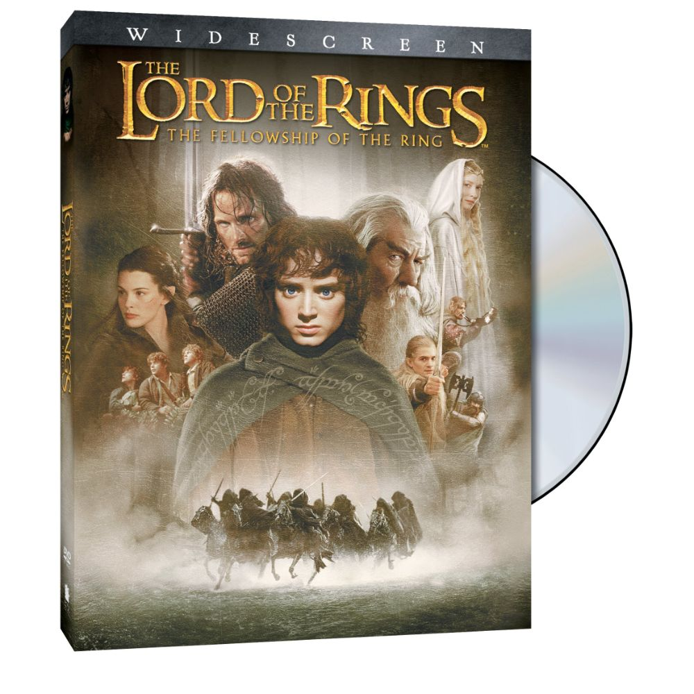 The Lord of the Rings: The Fellowship of the Ring (Widescreen) (DVD)