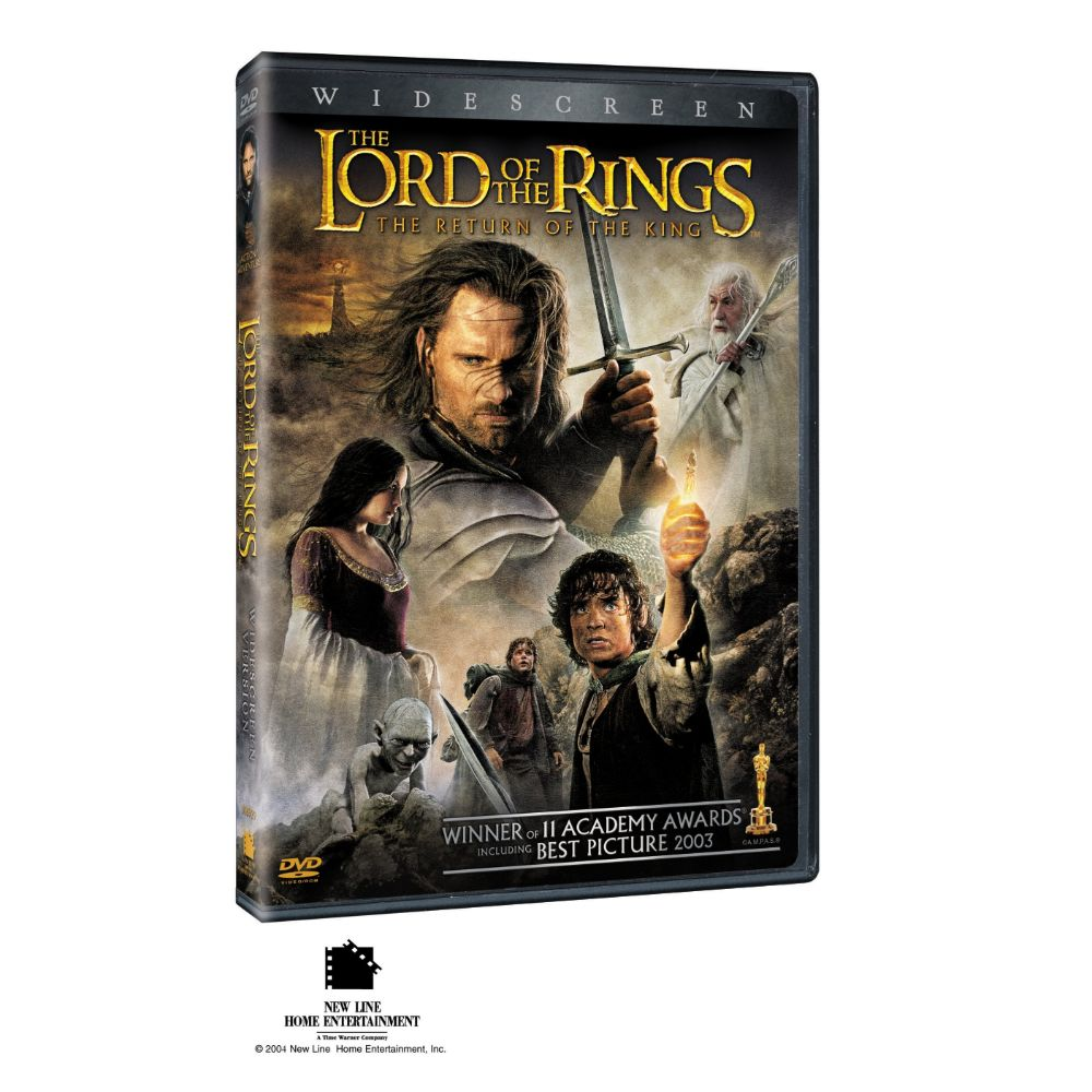 The Lord of the Rings: The Return of the King (Widescreen) (DVD)