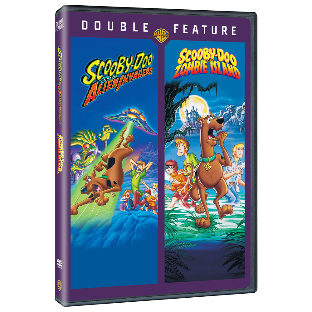 Scooby-Doo and the Alien Invaders / Scooby-Doo on Zombie Island (Double Feature) (DVD)