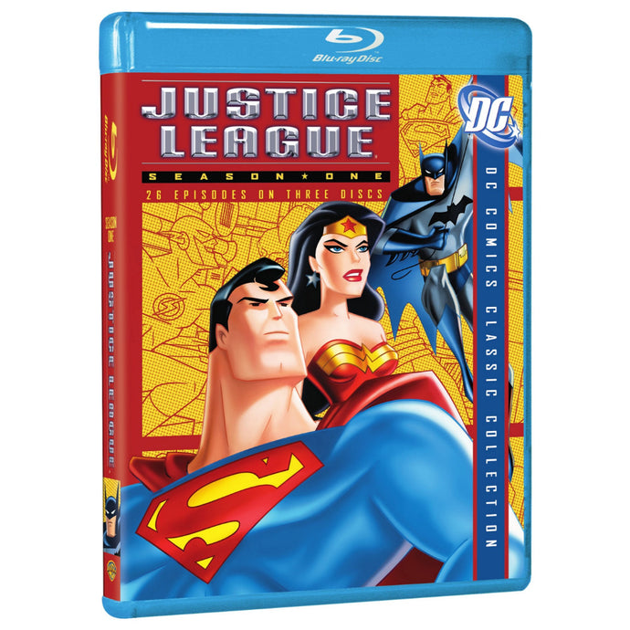Justice League: Season 1 (BD)