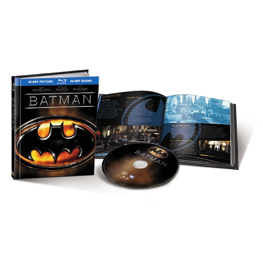 Batman (20th Anniversary Edition) (Blu-ray Book) (BD)