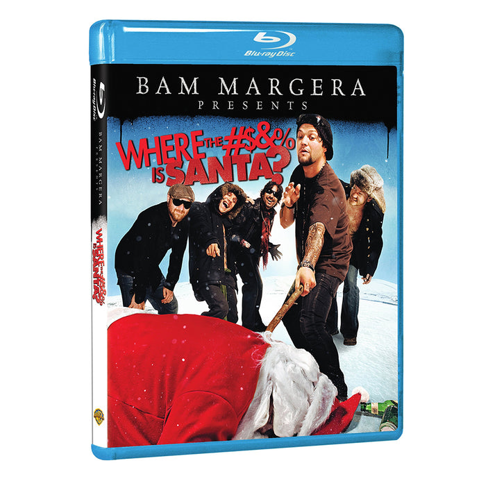 Bam Margera Presents: Where the #$&% is Santa? (BD)