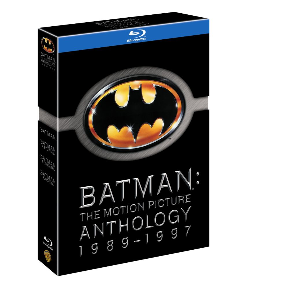 Batman: The Motion Picture Anthology 1989-1997 (BD)