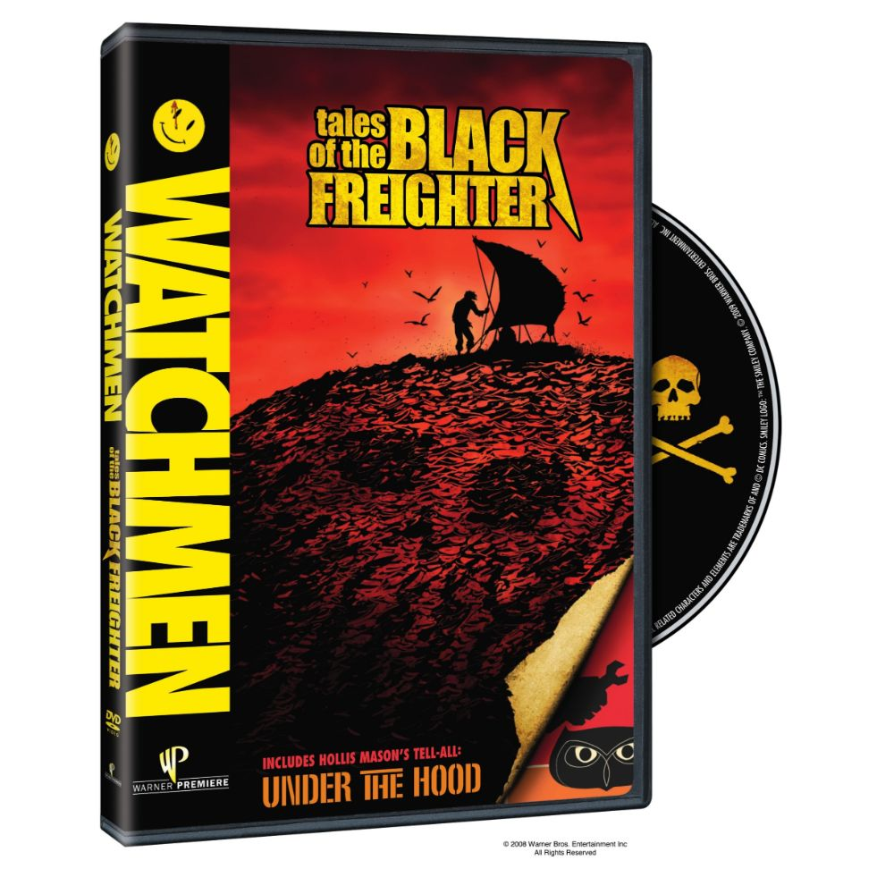 Watchmen: Tales of the Black Freighter & Under the Hood (DVD)