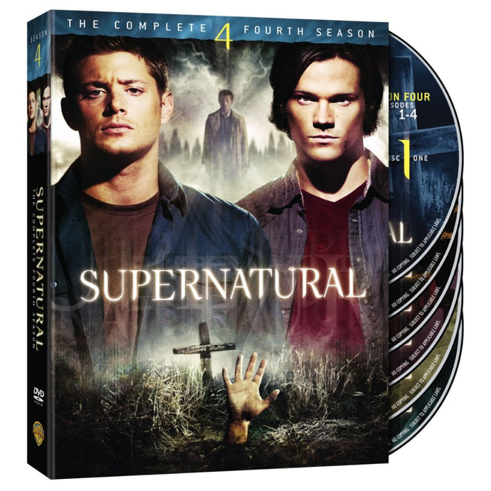 Supernatural: The Complete Fourth Season (DVD)