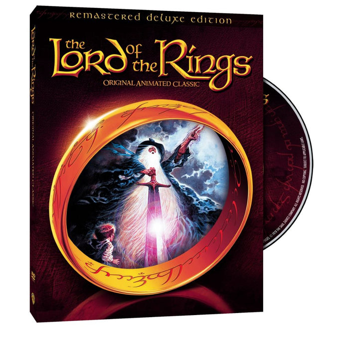 The Lord of the Rings: Original Animated Classic (Remastered Deluxe Edition) (DVD)
