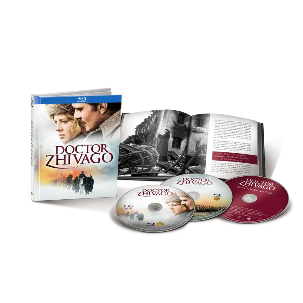 Doctor Zhivago (Anniversary Edition) (Blu-ray Book) (BD)