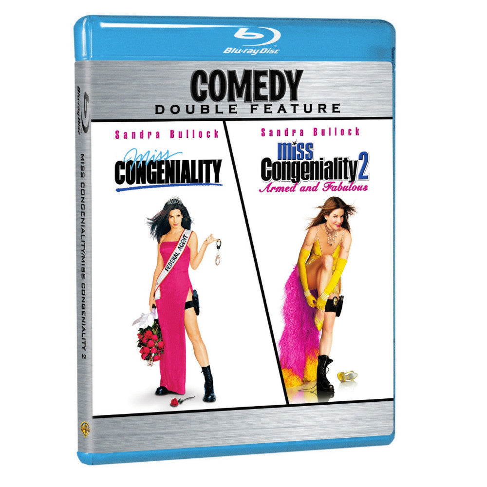 Miss Congeniality / Miss Congeniality 2 (Comedy Double Feature) (BD)