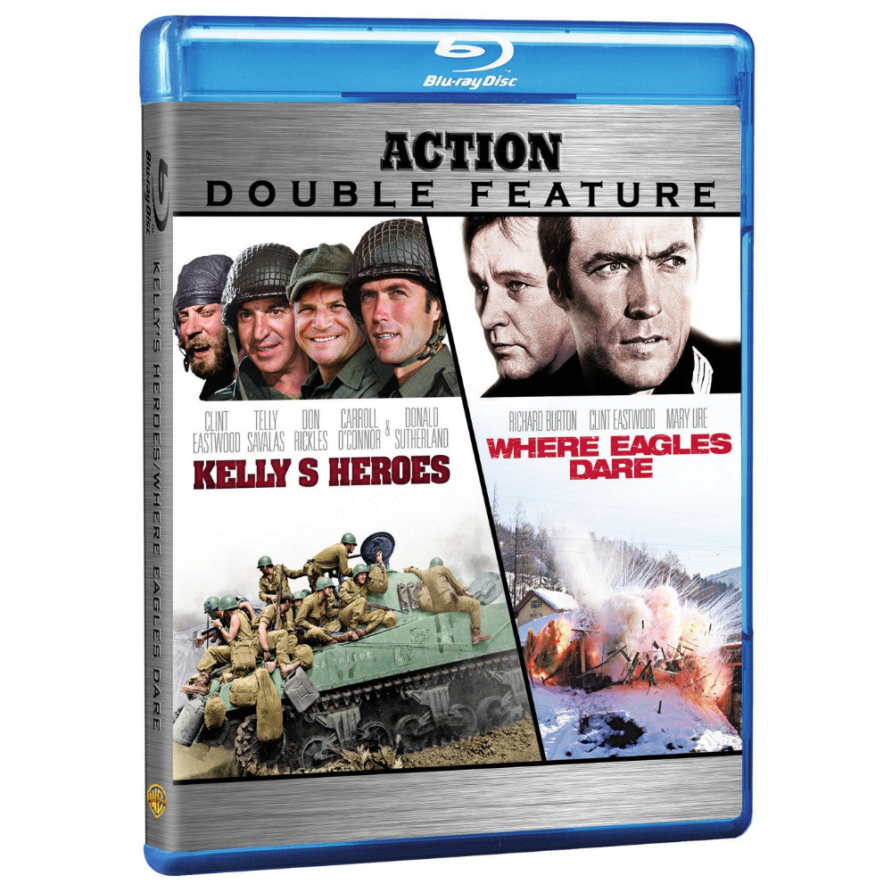 Kelly's Heroes / Where Eagles Dare (Action Double Feature) (BD)